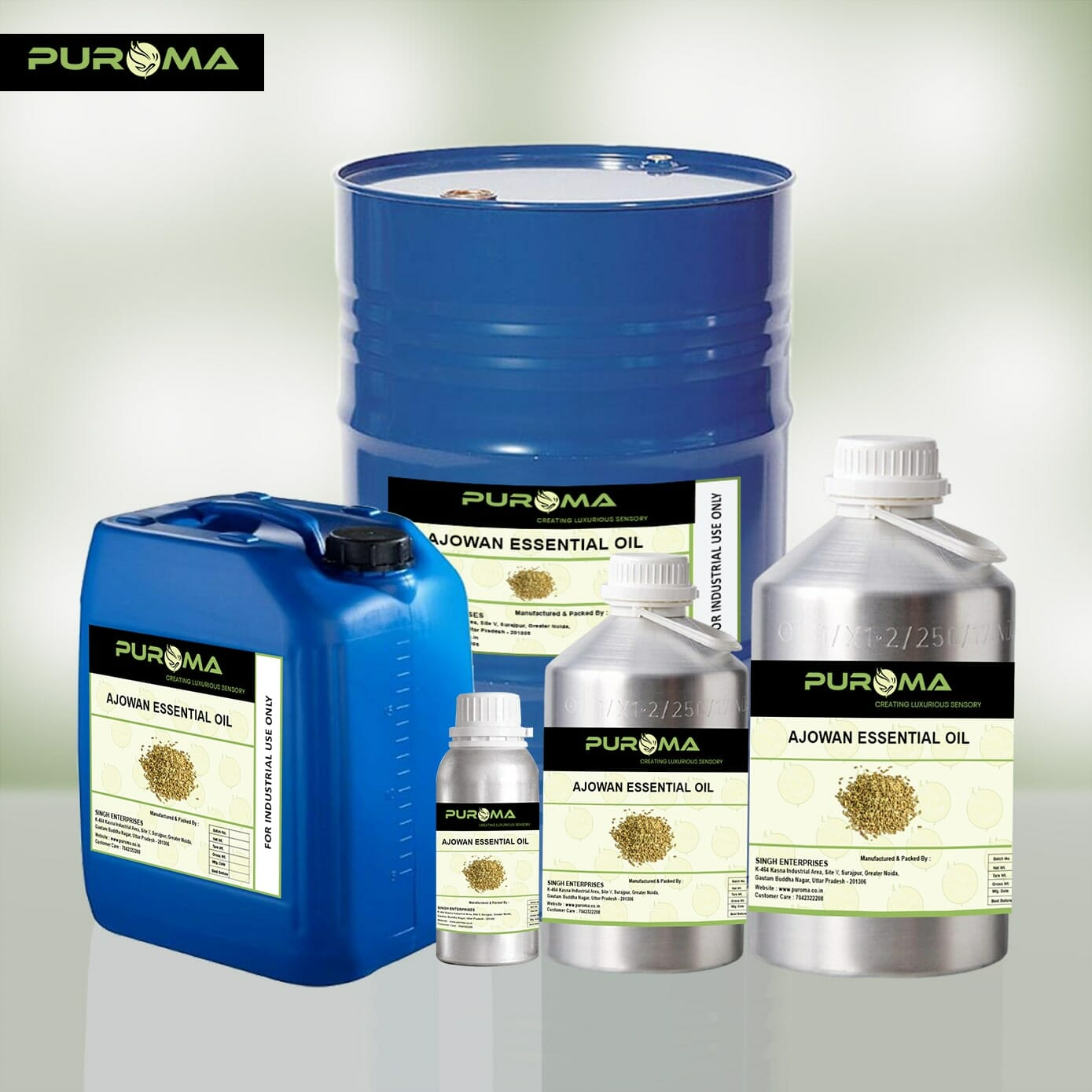 Ajowan oil Manufacturers in India