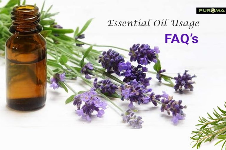 Essential oil usage FAQ's